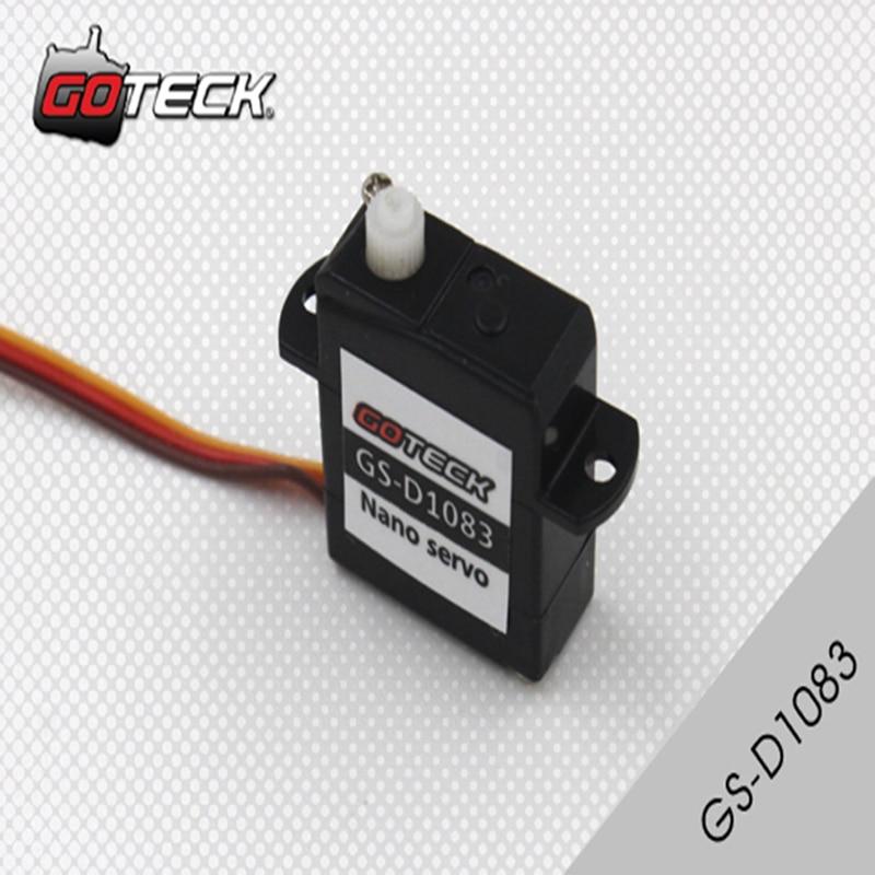 4pcs/lot Goteck 1.83g Micro digital rc servo motor GS-D1083 with torque 0.07kg-cm джинсы мужские g star raw 604046 gs g star arc