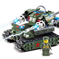 Red Alert 2 Тесла Танк Строительные блоки Игрушки Для Детей Военный Танк Образовательные Кирпичи Игрушки Подарок На День Рождения 81002