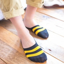 10pcs=5pairs Men's Socks Cotton Striped Boat Socks Summer Ne