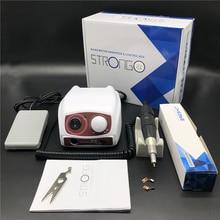 35000RPM STRONG 210 102 rękojeść mikrosilnika i mocna skrzynka sterownicza 207B elektryczna wiertła do paznokci Manicure Nail Art Equipment