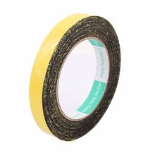 UXCELL 5m Length Sponge Foam Rubber Strip Neoprene Tape Single Sided Sponge Tape Adhesive Sticker Foam Glue Strip Sealing 10pcs 10m long 20mm x1mm dual sided sponge tape adhesive sticker foam glue strip