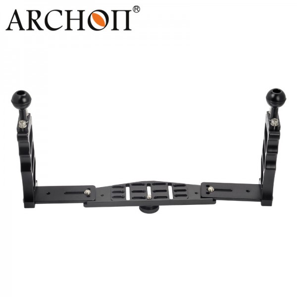 ARCHON Z06 Diving Flashlight Two Hands s Lamp Arm Photography Bracket adjustable video camera mounting bracket