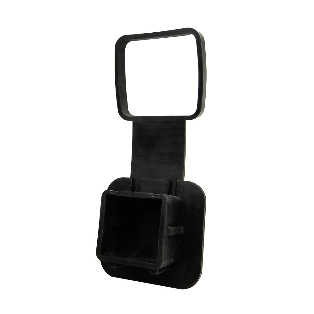2 Black Rubber Hitch Plug Cover for TOYOTA Class III Receiver Hitch for Jeep Hitch Cover Class IV V trlr hitch receptacle kit page 2
