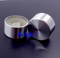2 pcs 30mm escudo de alumínio amplificador knob