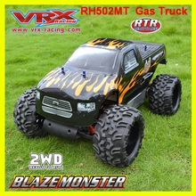 Радиоуправляемый грузовик VRX Racing RH502MT Монстр 1/5 масштаб 2WD газ питание, с CN30cc бензиновый двигатель грузовик, высокая скорость дистанционного управления автомобиль