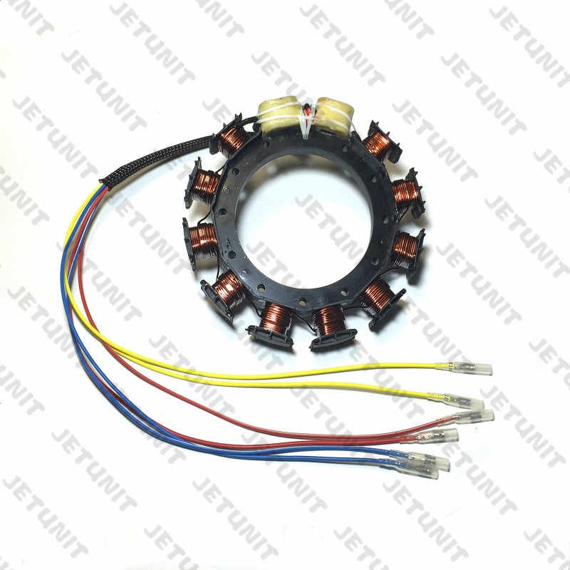 MERCURY 100%premium outboard 16 amp Stator Assy 40-125hp 2,3&4 CYLINDER  174-9710K1 398-818535A18 398-9710A28 398-9873A32 F747095
