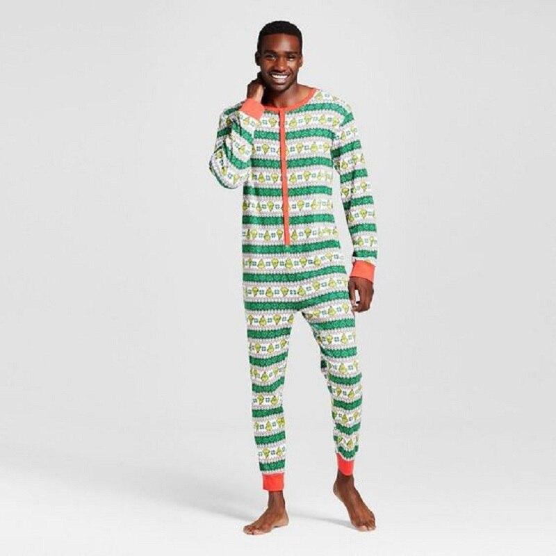 6830cd2ff518 Onesies Matching Family Christmas Pajamas Baby Kids Boys Adult ...