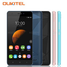 OUKITEL C3 5.0 Inch HD Screen Smartphone Android 6.0 MTK6580A Quad Core 1GB RAM 8GB ROM Diamond Design 3G WCDMA 2SIM Cell phones