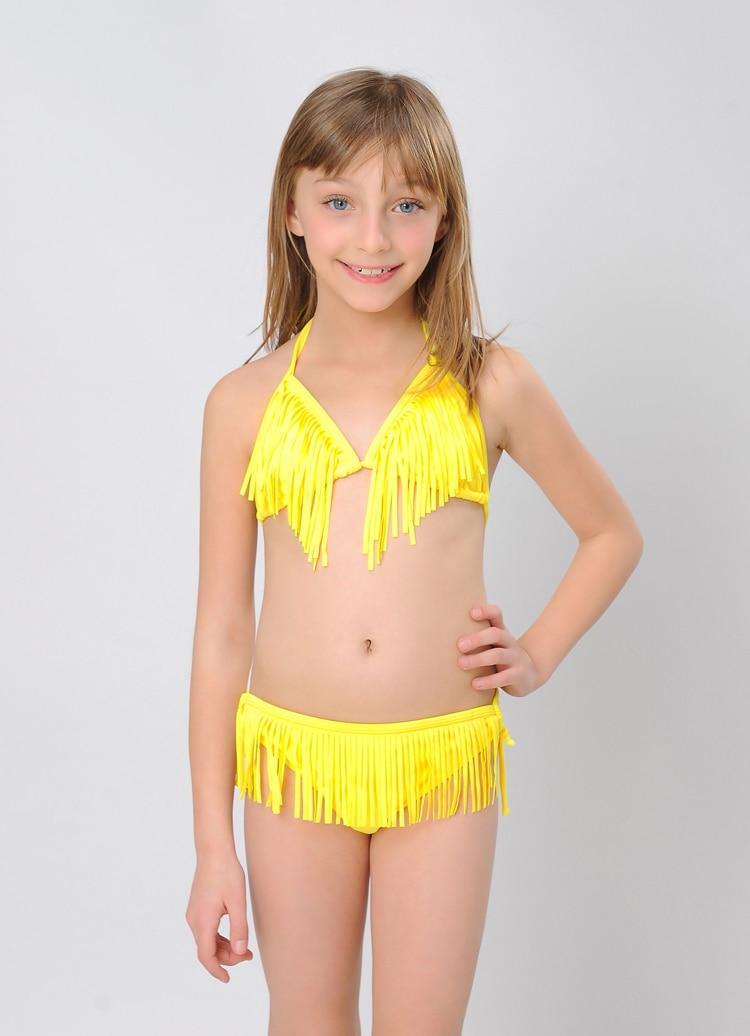Free Shipping 2Pieces Micro Triangle Swimsuit Colorful Children Model Hot Sex Photos Bikini Girl Smocked Baby Swimwear On Aliexpresscom  Alibaba -2092