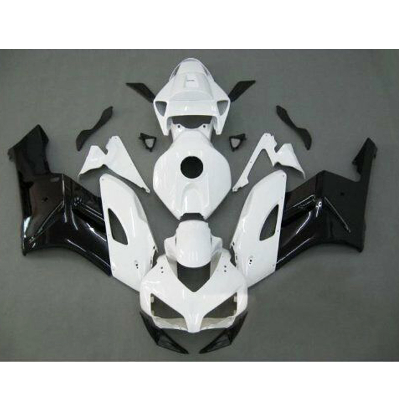Black White Complete Fairing Injection ABS Plastic for 2004-2005 Honda CBR 1000 RR 1000RR CBR1000RRBlack White Complete Fairing Injection ABS Plastic for 2004-2005 Honda CBR 1000 RR 1000RR CBR1000RR