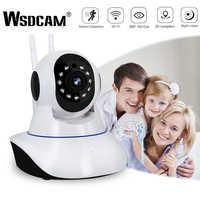 Wsdcam 1080 P caméra IP sans fil caméra de sécurité à domicile caméra de Surveillance Wifi Vision nocturne caméra de vidéosurveillance bébé moniteur piste intelligente
