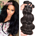 7A Eurasian Virgin Hair Body Wave 4 Bundles Cheap Human Hair Bundles Eurasian Wavy Hair Body Wave Weave Human Hair Extensions