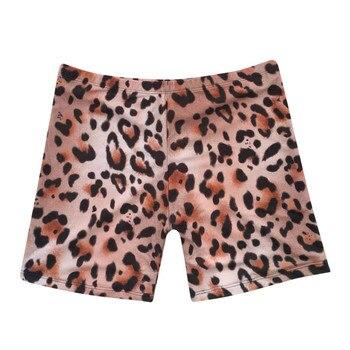 Womail Women shorts Fashion Leopard Print Sexy Swimwear Beachwear Siamese Swimsuit Shorts shorts Daily denim color dropship j24 6