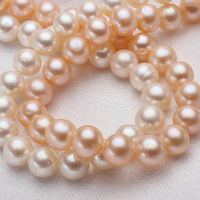 Potato Cultured Freshwater Pearl Beads Cute Jewelry Natural Mixed Colors 6 5 7mm Hole Approx 0