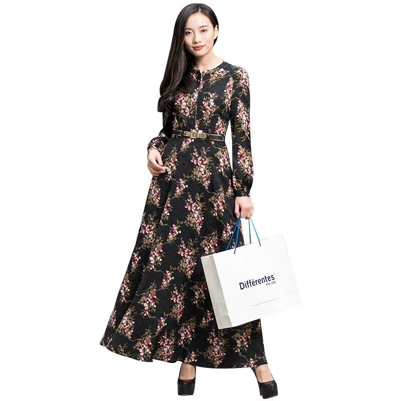 Printemps Femmes Manches Robe Longues Vintage Photographie 6575 Longue Broderie Club Partie Soirée De IgYrI