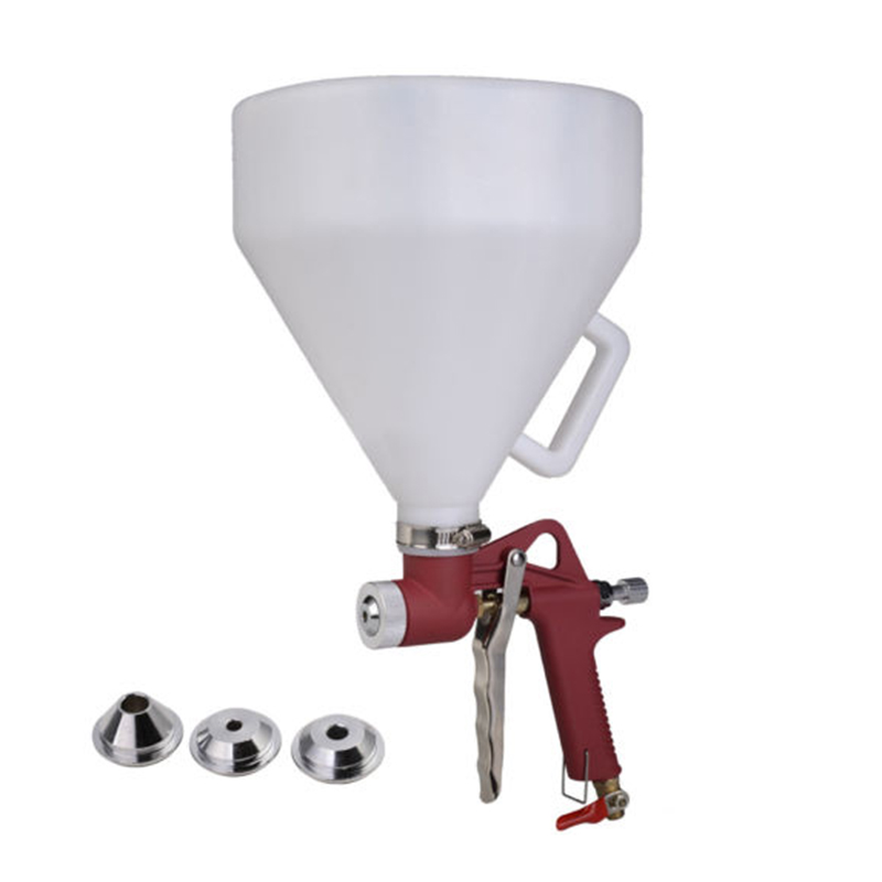Professional Spray Gun With 5L White Hopper 4mm/6mm/8mm Three Nozzles Airbrush Air Kit Practical Paint Art Spray Gun Power Tools 2 5l pneumatic hopper gun air spray gun wall paint spray gun painting gun tools page 9