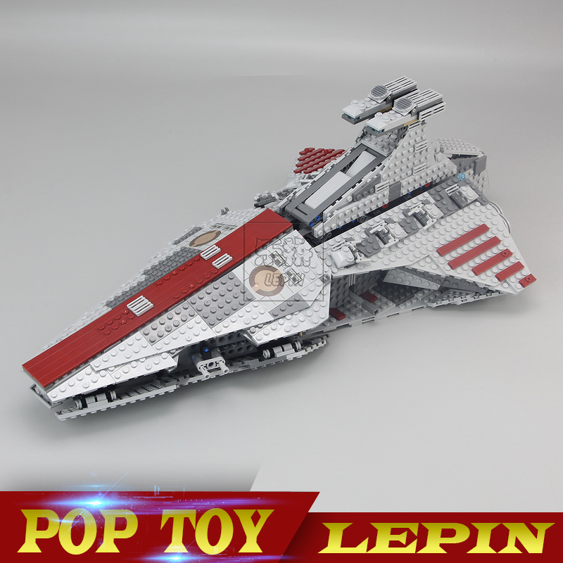 Lepin 05042 Star Series Wars The Republic Fight Cruiser Set Building Blocks Brick Educational Toys for Children DIY 8039 Gift wisehawk nano star wars yoda building blocks big size characters figure educational toys diy assembly micro brick christmas gift