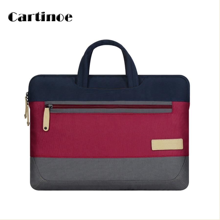 13 15 Inch Laptop Tablet Bag For Samsung HP Dell Asus Lenovo Macbook Nylon Patchwork Handbag 2016 New Design