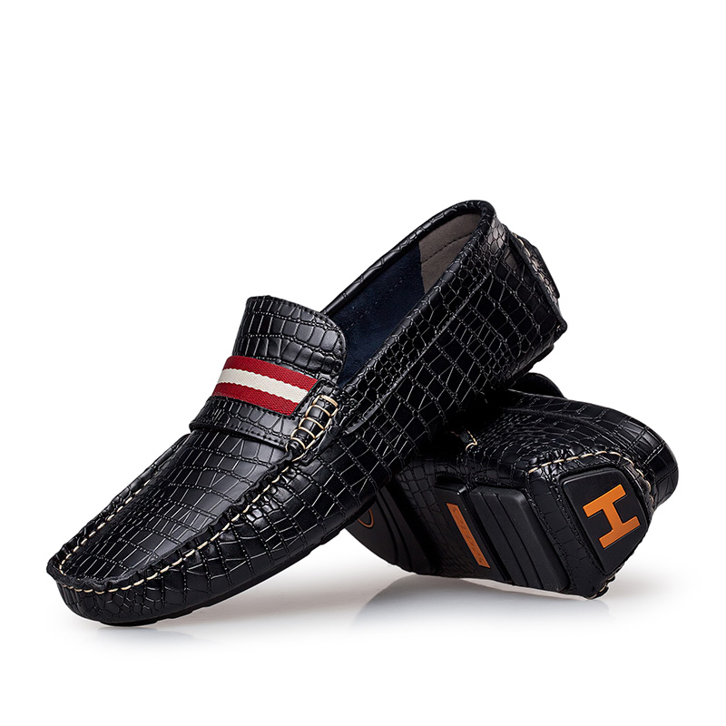 Adulto Zapatos Tenis Chaussures wine Brown Conduite Mocassins Black Hommes Heinrich Véritable Red Casual Respirant Masculino dark Cuir De Mode Nouvelle En I9DH2YWE