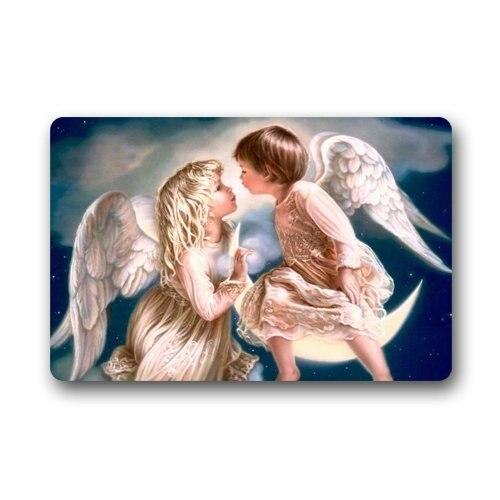Коврик персонализировать Декор коврами коврики Поцелуй Ангела коврики персонализировать  ...