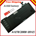 "Screwdriver+Brand New Genuine Original Battery A1322 For APPLE MacBook Pro 13 "" Unibody A1278 MC700 MC374 Mid 2009-2012"