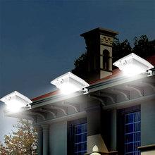 Led Solar Light Outdoor Wall Lamp For Garden Path Led Waterproof Body Induction PIR Motion Sensor Super Bright Courtyard Light