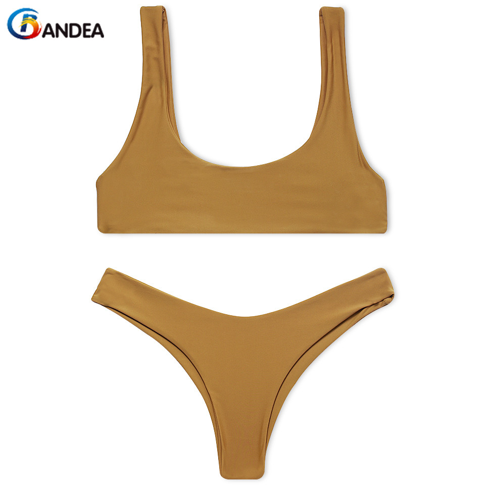 BANDEA 2017 bikini set new brand swimsuit women sexy sport swimwear biquini thong bottom beach bathing suit summer купить