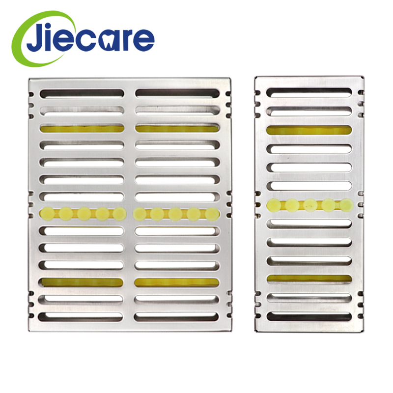 1 Pc Dental Tool Dental Sterilization Box Cassette Rack Tray Stand Box Autoclavebale Disinfection Holder Surgical Instrument