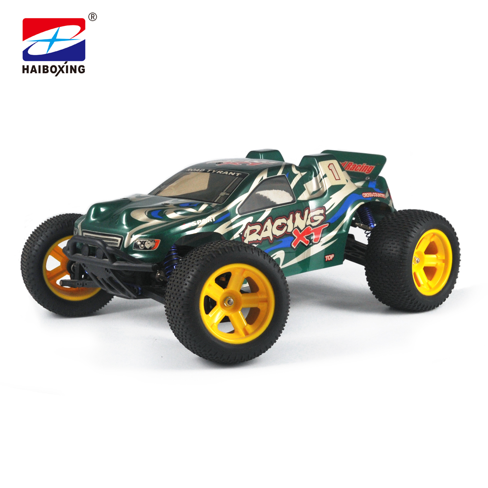 HBX 6538 RC Car 1:10 Scale 4WD 2.4Ghz 50km/h High Speed Remote Control Car Electric Powered Off-road Truck Model green