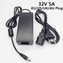 32V 5A Eu Ons Uk Au Plug 32v5a 32 Volt Ac Dc Adapter Schakelende Converter Voeding Universele Power adapter Dc Voltage