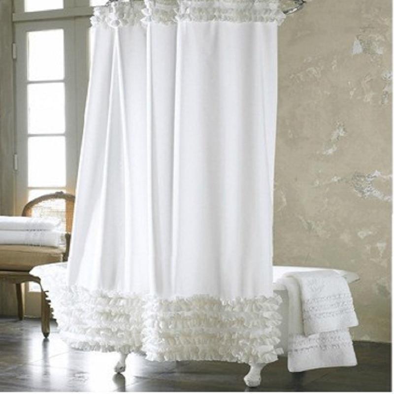 Yl12 Home Decor Bathroom Shower Curtain
