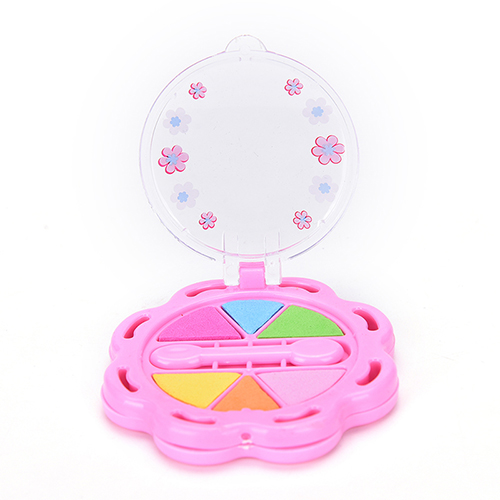 Funny Girls Gift Cosmetics Toys DIY Fun Girl Makeup Toy Eyeshadow Box Children Playing Toy  For Dolls Accessories