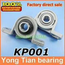 Roulements montés par alliage de Zinc de calibre de 12 mm KP001 UCP001 P001 logement de roulement de bloc d'oreiller