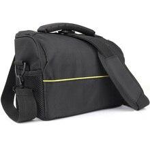 Fashion Nylon Video Bag Waterproof DSLR Camera Bag Shoulder Backpack Case For Canon Nikon SONY DSLR Cameras Photo Case Lens Bag