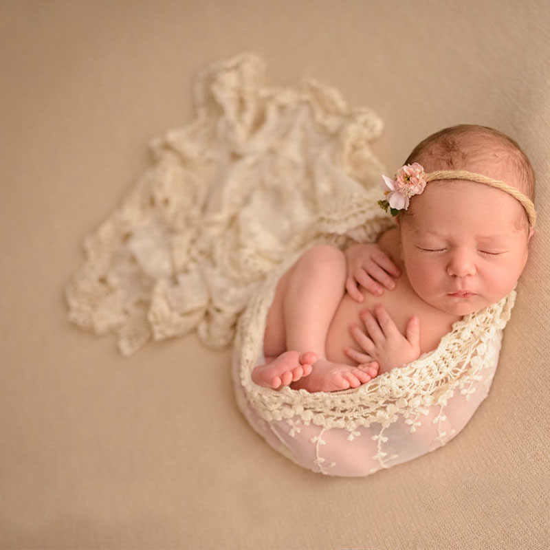Newborn wrap photo prop, newborn photography props lace wrap accessories blanket baby photo blankets