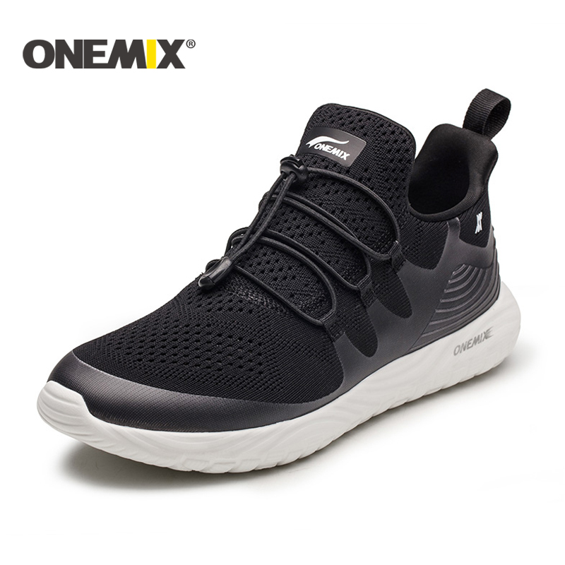 onemix new Lightweight running shoes men Athletic Shoes for men women running shoes unisex jogging sneakers Outdoor Sport shoes blue