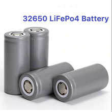 12pc 32650 3.2v 7000mAh lifepo4 rechargeable battery cell LiFePO4 5C discharge battery for Backup Power flashlight mbr cell power neck
