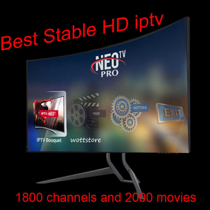 IPTV Subscription 1 Year NeoTV Pro French Live TV VOD Sports Channels Europe iptv Code Android M3U Enigma2 MAG for Smart TV Box