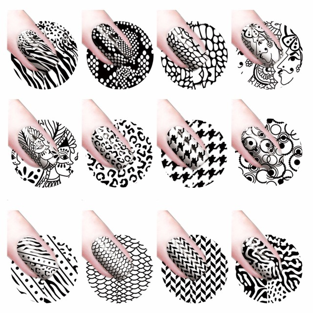 Aliexpress Buy Yzwle 1 Sheet Water Transfer Nail Art Sticker