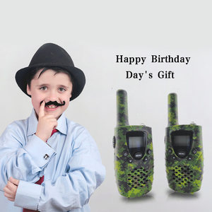 Image 5 - Portatile Mini Bambini Walkie Talkie PMR446MHZ 8/22CH Two way Radio Display LCD Fashlight con Charing USB jack per I Regali dei bambini
