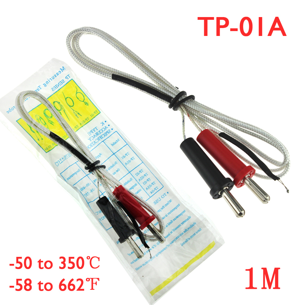 100cm = 1m Us 1 K Type Thermocouple Sensor Digital Probe Tester 100cm 1m Wire Temperature Measuring 1 4cm Interface In Temperature Instruments From Tools On