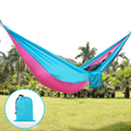 Parachute Double Hammock Garden Outdoor Camping Travel Furniture Survival Hammock Swing Sleeping Bed