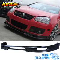 For 2006 09 Type A Urethane Front Bumper Lip Spoiler For Vw Golf 5 Gti / Jetta Global Free Shipping Worldwide