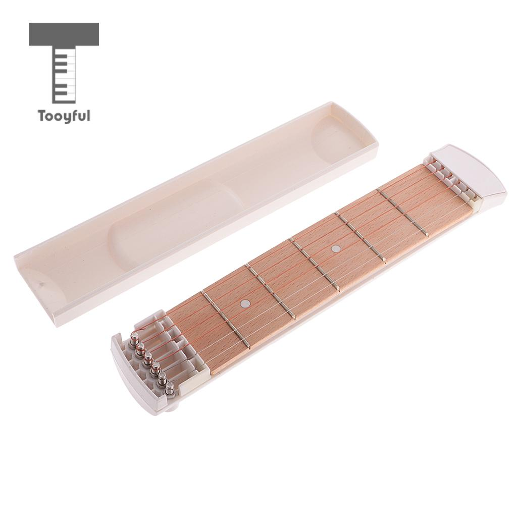 Tooyful Portable Pocket Acoustic Guitar Practice Tool Gadget Chord Trainer ...