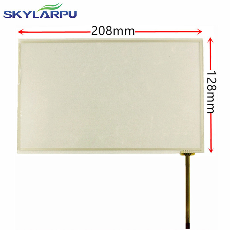skylarpu 8.9inch touch panel 208mm*128mm touch screen + USB Controller Kit car GPS navigation touch screen point of reading ...