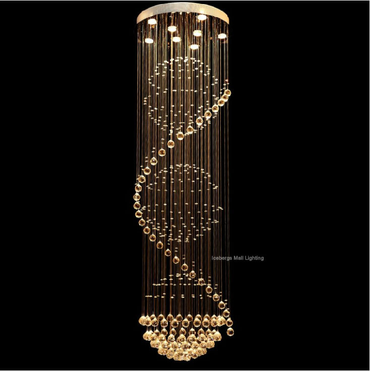 6813 luxury led crystal ceiling lights long stairway crystal 6813 luxury led crystal ceiling lights long stairway crystal dome ceiling lampeurope hotel foyer living room hanging light in ceiling lights from lights aloadofball Images