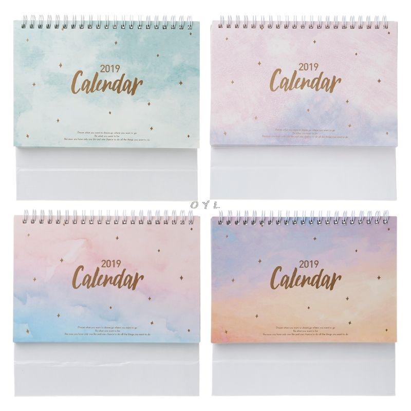 Logical 2019 Lovely Christmas Calendar Diy Desktop Calendar Agenda Organizer Daily Schedule Planner 2018.09~2019.12 Calendar