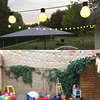Fairy 10m 38 LED Luminaria Decoration Garland 5cm Big Ball String Lights Christmas New Year Holiday