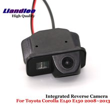Liandlee Car Reverse Camera For Toyota Corolla E140 E150 2008~2013 Rear View Backup Parking Camera / SONY CCD HD Integrated new high quality rear view backup camera parking assist camera for toyota 86790 42030 8679042030