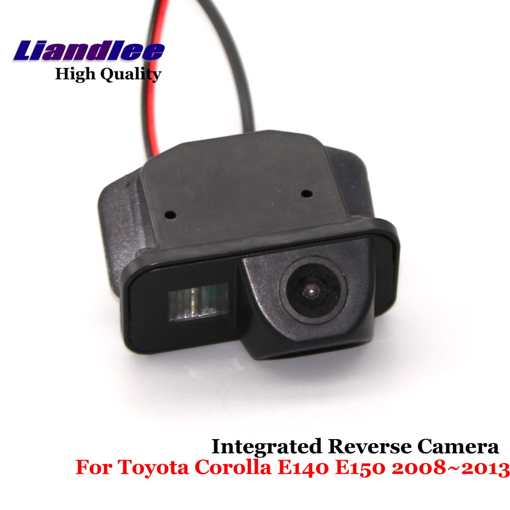 Liandlee Car Reverse Camera For Toyota Corolla E140 E150 2008~2013 Rear View Backup Parking Camera / SONY CCD HD Integrated image